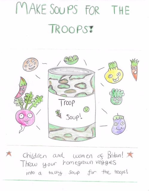 thumbnail_Benj's Troop Soup WW2 Poster